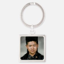 DeMotivational - Howard Hair Square Keychain
