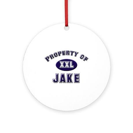 Property of jake Ornament (Round)