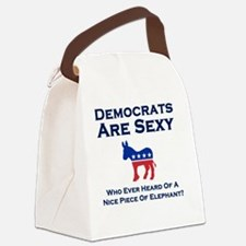 Democrats are Sexy Canvas Lunch Bag