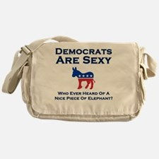 Democrats are Sexy Messenger Bag