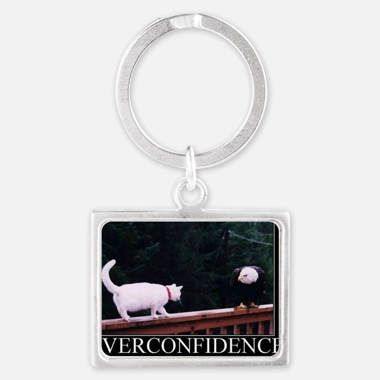 DeMotivational - Here kitty kit Landscape Keychain
