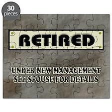 Retired Under New Management Puzzle