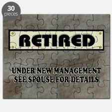 Retired Under New Management Puzzle