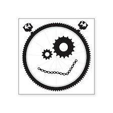 "gearhead_jewelry Square Sticker 3"" x 3"""