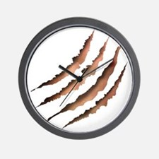 Clawmarks Wall Clock