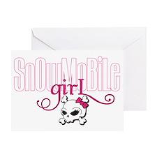 snowgirl2 Greeting Card