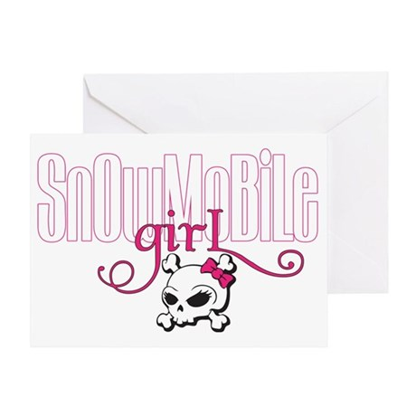 snowgirl2 Greeting Card