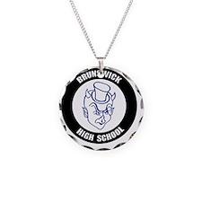 BRU_Logo1_T Necklace