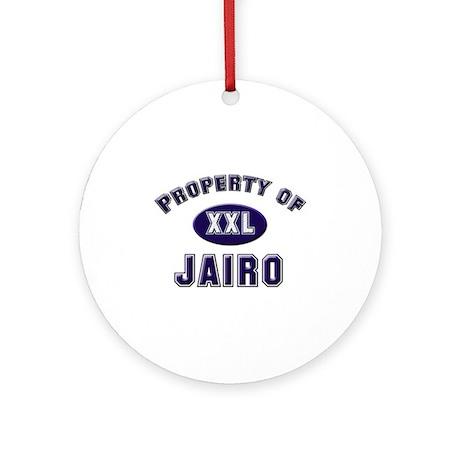 Property of jairo Ornament (Round)