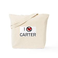 I Hate CARTER Tote Bag