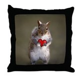 Funny valentine's day Throw Pillows