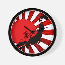 HopeforJapanRwsW Wall Clock