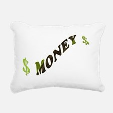 G-MONEY-SIGN Rectangular Canvas Pillow