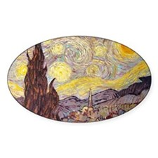 Vincent in Starry Night Decal