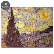 Vincent in Starry Night Puzzle