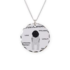 Whats in a Newf - Landseer Necklace
