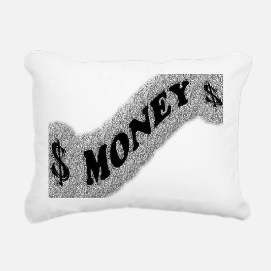 $-MONEY-SIGN2 Rectangular Canvas Pillow
