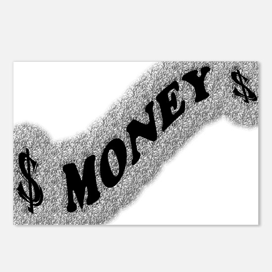 $-MONEY-SIGN2 Postcards (Package of 8)