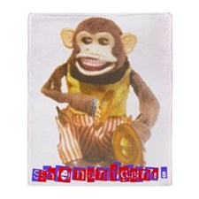 munky business Throw Blanket