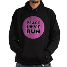 peace love run Hoodie