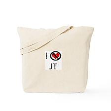 I Hate JT Tote Bag