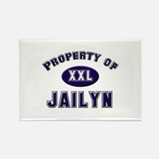 Property of jailyn Rectangle Magnet