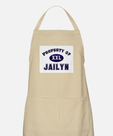 Property of jailyn BBQ Apron