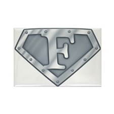 Super stee Fl Rectangle Magnet