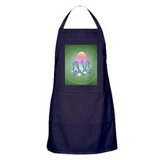 The Great Easter Egg-circle Apron (dark)
