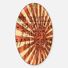j_ipad_1 Sticker (Oval)