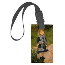Girl with Watering Can Luggage Tag