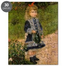 Girl with Watering Can Puzzle