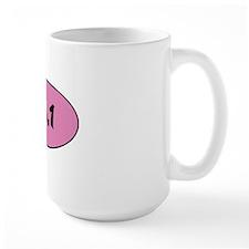 13.1  pink circle Mug