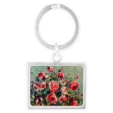 Roses of Vargemont Landscape Keychain