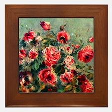 Roses of Vargemont Framed Tile