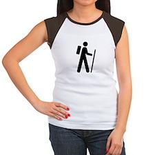 iCache White Women's Cap Sleeve T-Shirt