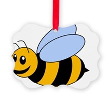 Bee yellow Ornament