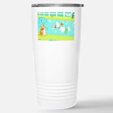 swimming birthday Travel Mug