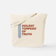 Violent Torpedo of Truth Charlie Sheen Tote Bag