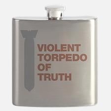 Violent Torpedo of Truth Charlie Sheen Flask