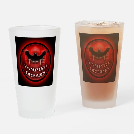 Vampire Dreams mouse pad Drinking Glass
