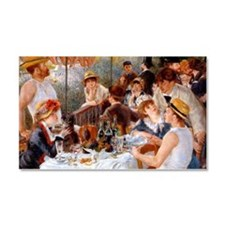 Luncheon of the Boating Party Car Magnet 20 x 12