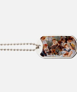 Luncheon of the Boating Party Dog Tags