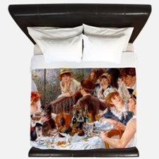 Luncheon of the Boating Party King Duvet