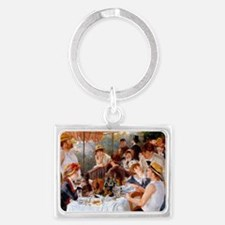 Luncheon of the Boating Party Landscape Keychain