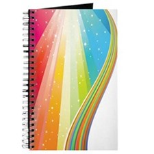 Vertical Rainbow Wave (4G slider) Journal