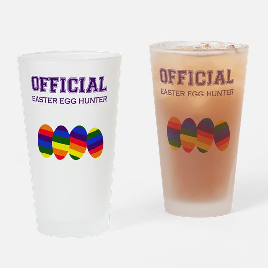 Official Easter Egg Hunter - Rainbo Drinking Glass