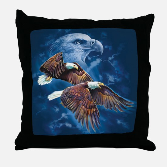 ip000662_1eagles3333 Throw Pillow