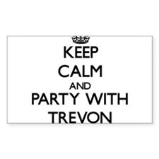 Keep Calm and Party with Trevon Decal