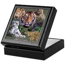 ip001528catsbig cats3333 Keepsake Box